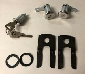 NEW 1962 1963 1964 Galaxie, LTD & Sunliner Ignition & Door Lock Set- Ford keys