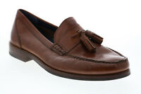 Cole Haan C27542 Mens Brown Leather Slip On Loafers & Slip Ons Tasseled Shoes 8