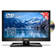 """Cello ZSF0291 19"""" inch LED TV/DVD Freeview HD with Satellite Receiver   2020  """