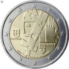 2 euro portogallo 2012 commemorativo guimaraes nuovo fdc *LEGGERE DESCRIZIONE