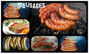 Sausages - Recuerdo Novedad Recordatorio Diversión Imán de Nevera - Nuevo -