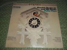 Vtg.Vinyl LP Record Album - Polka Time, Frankie Yankovic and His Yanks