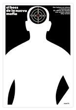 "Movie Poster for film""MAFIA New Boss""Italian film Noir.Decorative design.Target."