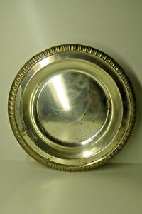 VINTAGE HEAVY HECWORTH REPRODUCTION OLD SHEFFIELD BOWL EPNS SILVER PLATE