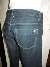 Pantalon jeans bleu brut taille basse CARHARTT w'urban pant w27 l34 36/38 17VH28