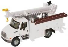 11734 Walthers SceneMaster International 4300 White Utility Truck w/Drill