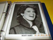 ENTERTAINMENT TONIGHT TV HOST MARY HART HARRY LANGDON PHOTOGRAPH