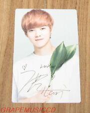 EXO NATURE REPUBLIC EXO-M LUHAN LIP BALM PHOTOCARD PHOTO CARD NEW