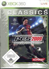 Pro Evolution fútbol 2009 XBOX 360 NUEVO