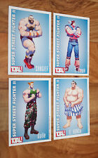 Old Collectible Card Super Street Fighter 2 II T. Hawk Zangief Guile E. Honda