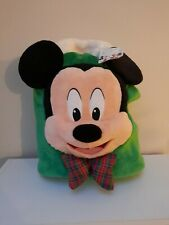 Disney Store Mickey Mouse Christmas Stocking Sack. New never used