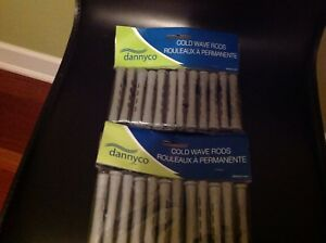 DANNYCO  COLD WAVE RODS PROFESSIONAL 24 count NEW SEALED