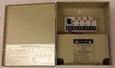 CCTV Power Supply Box Distribution Unit 4 Ports Output PTC Fuse 12V DC 5Amp