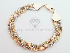 18K Gold Plated Designer Bracelet|Hermosa Pulsera de Diseñador Oro Laminado 18K