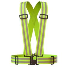 Safety Reflective Vest Straps For Outdoor Sports Activities
