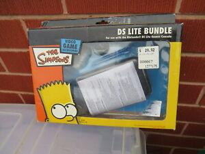 The Simpson's DS lite bundle Nintendo DS Cases accessories pack