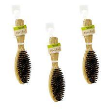 3 Swissco Oakwood Oval Hair Brush