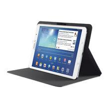 "7""-8"" Tablet Tasche Ständer Universal Schwarz Ultra Dünn NEU Trust Markenprodukt"