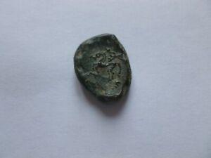 CELTIQUE / GAULOISE   AEDUEAN   bronze au cheval    1er siècle avant JC