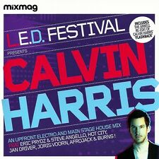 CALVIN HARRIS - LED FESTIVAL MIXMAG CD  Afrojack Eric Prydz Steve Angello Burns