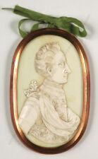 "Bengt Richter-Circle ""King Karl XII of Sweden"", bas-relief miniature, 1700/10"