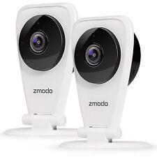 Zmodo 2-Pack EZCam 720p HD IP WiFi Wireless Surveillance Camera w/Two Way Audio