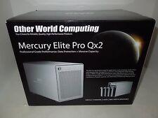 Mercury Elite Pro Qx2 - 4 Bay Hard Drive External Enclosure - by Other World