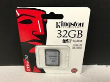 Kingston Digital SDHC Class 10 UHS-I 45R/10W Flash Card SD10VG2/32GB NEW✅❤️️WTY