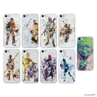 Star Wars Soft Silicone Gel Case/Cover Apple iPhone 5 5s SE / Screen Protector