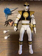 Hasbro Power Rangers Lightning Collection White Ranger Mint Complete Loose