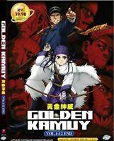 Golden Kamuy Season 1 Vol.1-12 End English Dubbed Ship From USA