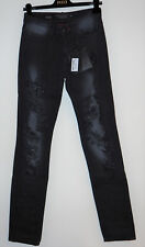 Philipp Plein Straight Black Jeans Limited Edition Handmade in Switzerland £985