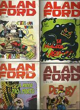 MAGNUS & BUNKER: ALAN FORD - NUMERI 44, 47, 48, 49 _ 1973 _ CORNO _ ORIGINALI