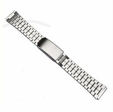 Seiko 19mm Stainless Steel Watch Band Bracelet Complete Watch Band