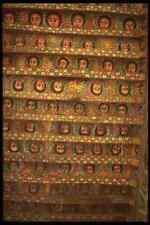 703028 Ceiling Of Debre Birhan Selassie Church A4 Photo Texture Print
