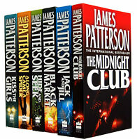 James Patterson Alex Cross Series 6 Books Collection Set Pack Jack and Jill