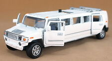 Classic Extended Version HUMMER 1:38 Car Sound Light Model Toy