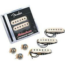 New Fender Vintage Noiseless Pickup Set w/ 3 CTS Control Pots & Caps +Free Gifts