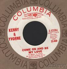 (Hear) 1966 Kenny & Yvonne Northern Soul DJ 45 (Come On and Be My Love)