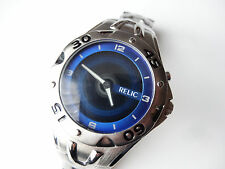 Relic Big Tic ZR88006 Men's Silver S/S Animated Dial Watch