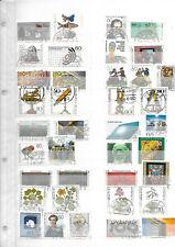 allemagne rfa lot timbres et bloc oblitérés 1981 à 1983