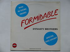 "MAXI 12"" DYNASTY BROTHERS Formidable 810743 1"