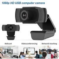 1080P HD Webcam Auto Focusing USB Web Camera For PC With Laptop Mic Desktop P1P6