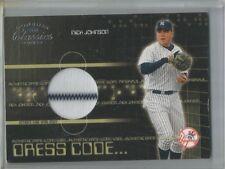 2003 Donruss #DC-38 Classics Nick Johnson Game Used Baseball Card #376/425