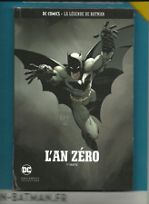 LOT DC EAGLEMOSS LEGENDE 1 : L AN ZERO + LA VIE DE BATMAN SOUS PLASTIQUE ORIGNAL