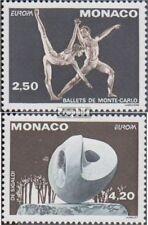 Monaco 2120C-2121C (kompl.Ausg.) postfrisch 1993 Zeitgenöss.Kunst