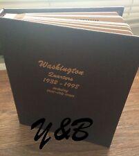 1932-1998 PDSS PROOF COMPLETE 186 WASHINGTON QUARTER AG-BU SET 1932-1964 SILVER