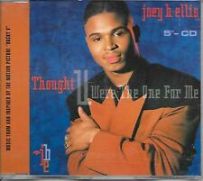 JOEY B. ELLIS - Thought you were the one for me CD SINGLE 3TR Hip Hop 1990