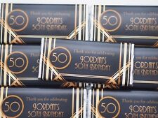 Personalised Chocolate Gatsby birthday any occasion MUST ORDER 20+