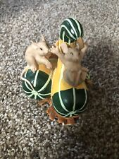 """Charming Tails Fitz And Floyd """"Horn Of Plenty� Figurine"""